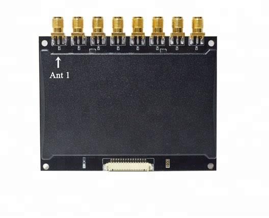 8-port uhf rfid module